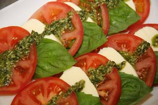 Tony Caters Caprese Salad