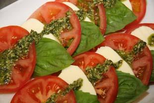 Tony Caters Caprese Salad