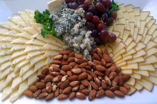 Cheese and Nut Tray for Your Private Event