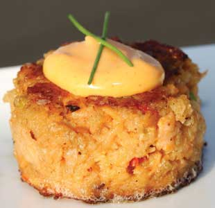 Salmon Cake Appetizers for Your Corporate Event