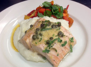 Salmon Dinner Catered for Your Private Party