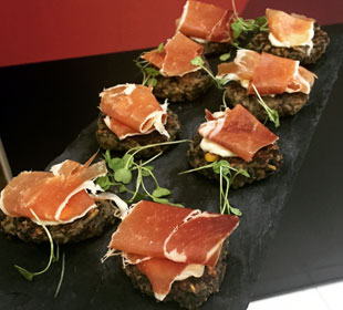 Prosciutto Appetizers for Your Corporate Event