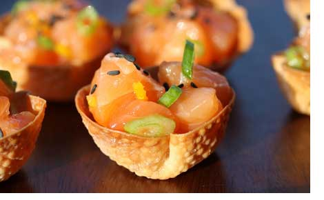 Catering Fun in San Francisco with Wonton Cups