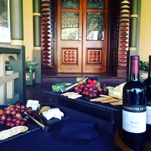 Wine and Cheese at San Jose Venue, Winchester Mystery House