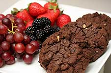 Tony Caters' Fresh Fruit and Cookies