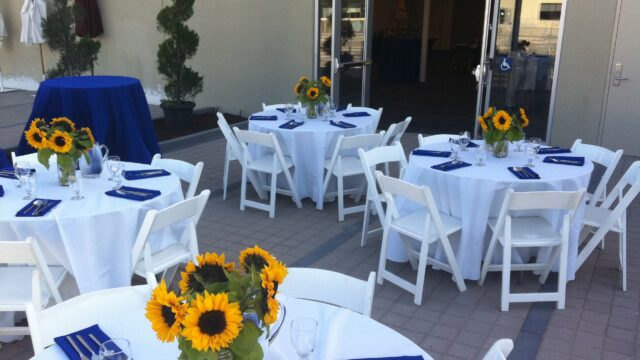 Tables Dressed for Your Catered Event
