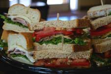 Catered Deli Tray of Gourmet Sandwiches Hits the Lunch Spot
