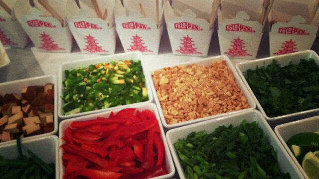DIY Asian Noodle Salad Bar