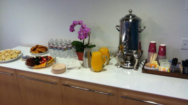 Simple Business Breakfast