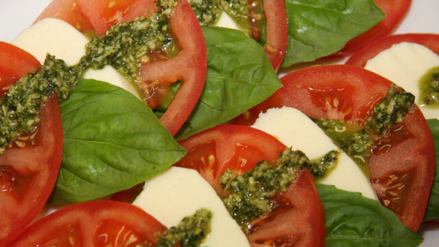 Cool Caprese Salad