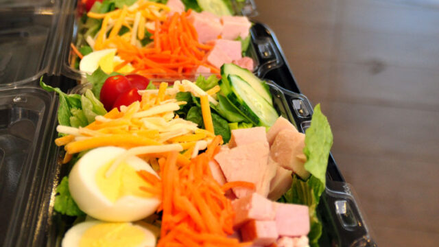 Chef Salads Catered for the Whole Office