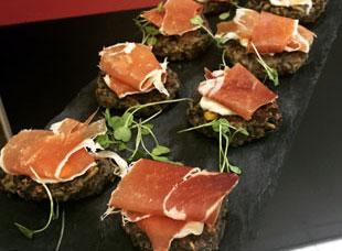 Prosciutto Bites Tony Caters Home