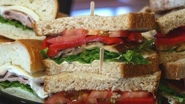 Deli Tray of Sandwiches